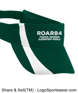 Embroidered ROAR84 Visor Design Zoom