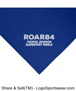 ROAR84 Embroidered Fleece Stadium Blanket Design Zoom